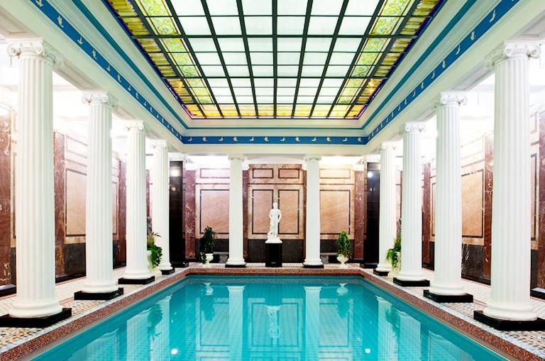 Pool at Sanduny bath house