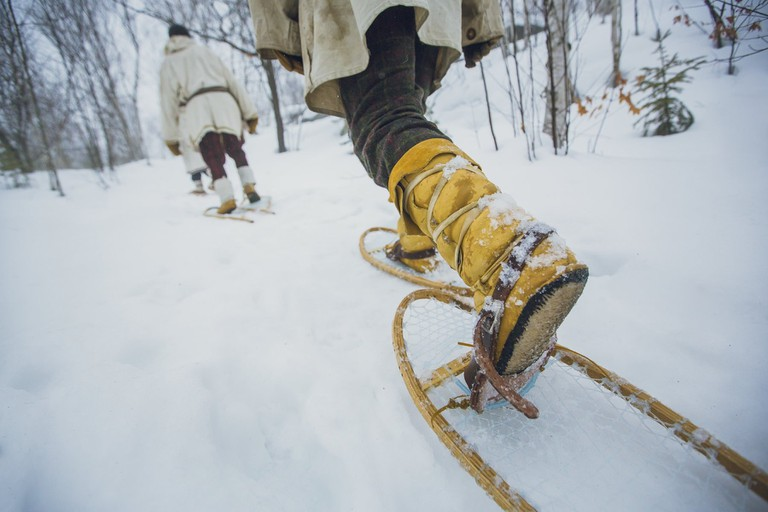 Snowshoeing in Sudbury | © OTMPC