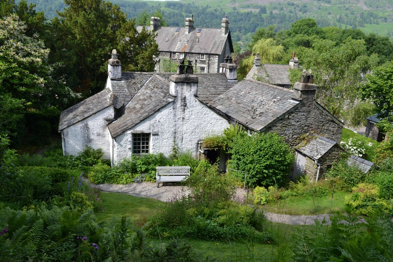 Dove Cottage was once the home of poet William Wordsworth
