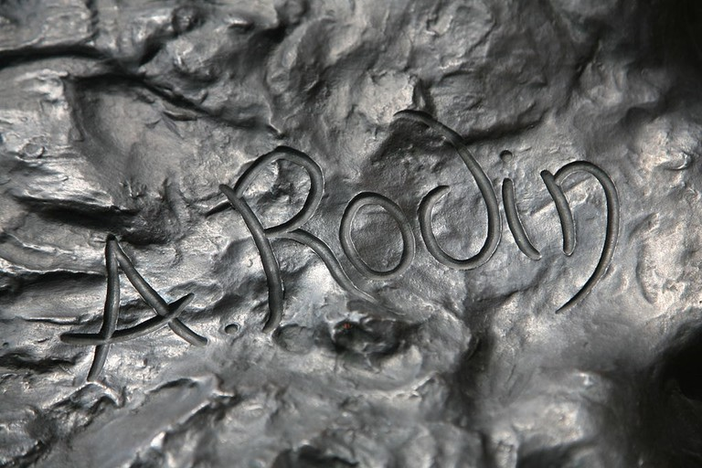 Auguste Rodin's signature | Photo by Daniel Schwen/WikiCommons
