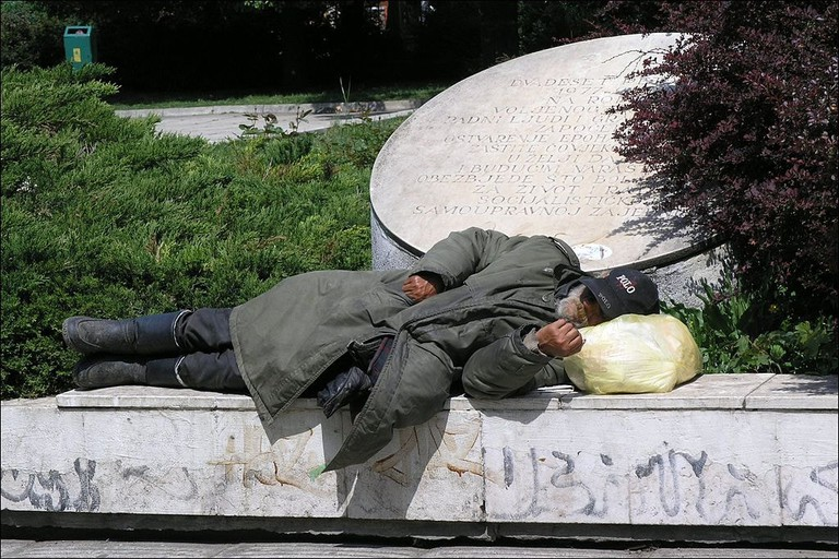 The Homeless in Sarajevo |© Matěj Baťha/WikiCommons
