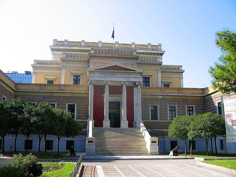 Old Parliament Building in Athens