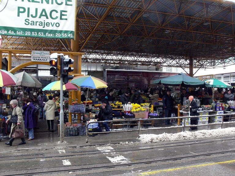 Sarajevo Market | © Christian Bickel/WikiCommons
