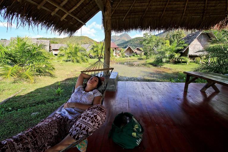 Relaxing in Pai