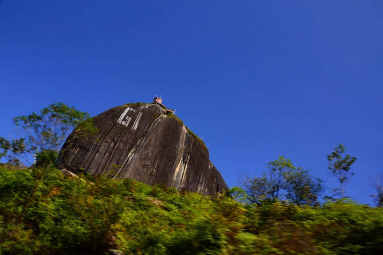 The rock of Guatape