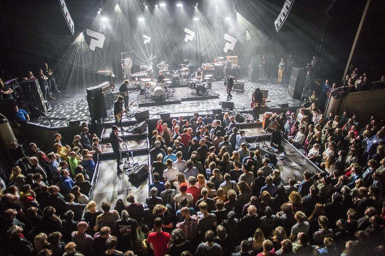 Savages and Bo Ningen playing at Le Guess Who? 2014