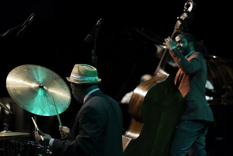 Jazz gig in Uruguay