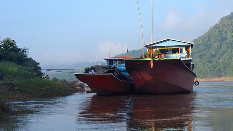 River Boats   © Clay Gilliland/Flickr