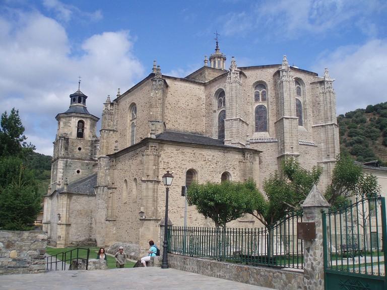 Cabecera de la Colegiata de Santa María de Villafranca del Bierzo | ©Lancastermerrin88 / Wikimedia Commons