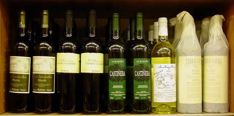 Albariño wines from Galicia | ©Luis Miguel Bugallo Sánchez / Wikimedia Commons