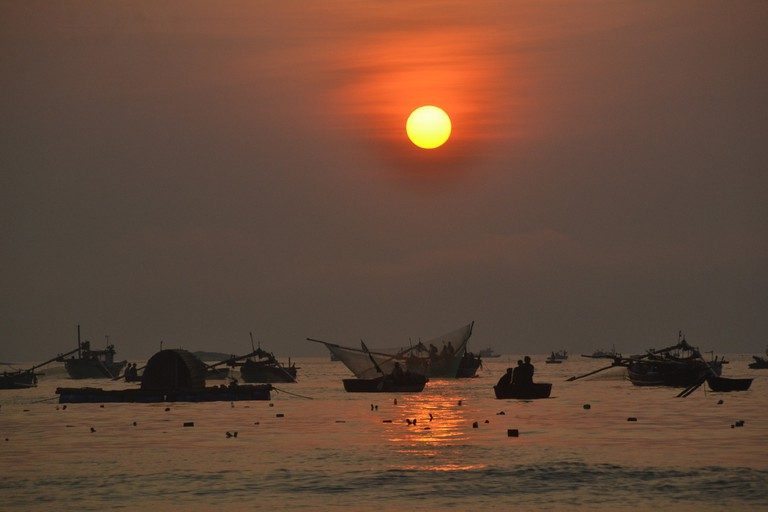 Sunrise on the coast of Vietnam | © Loi Nguyen Duc/Flickr