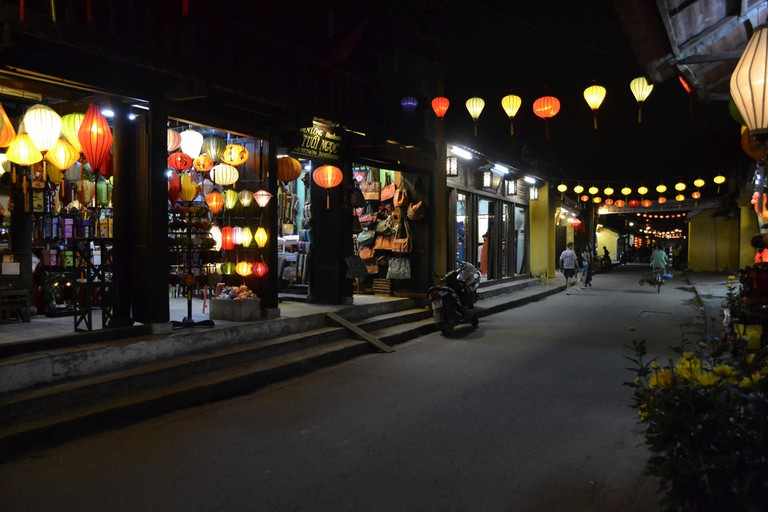 Shopping in Hoi An is a pleasant experience