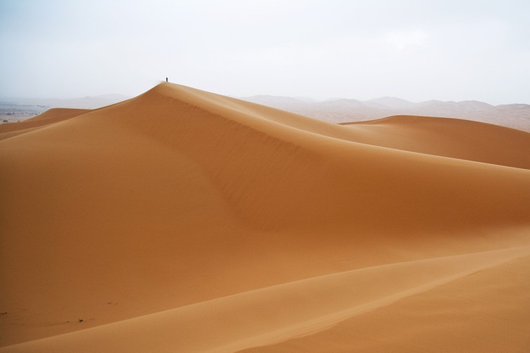 The spectacular dunes of Morocco's Erg Chebbi