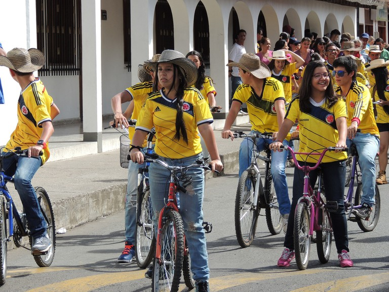 The Colombians are coming! Hardly a terrifying sight…