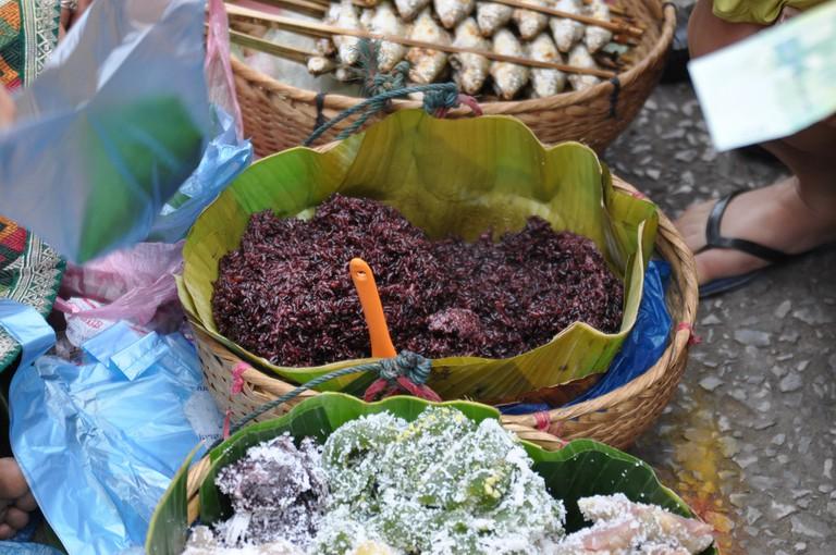 Cassava and Black Rice | © Shankar S/Flickr