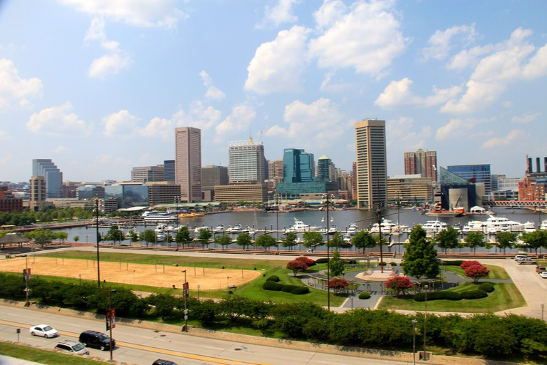 Baltimore, Maryland, City view, Inner Harbor