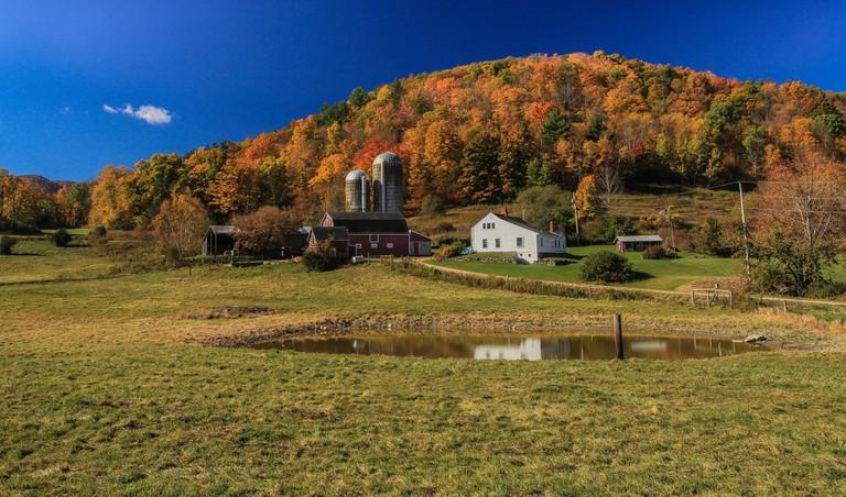 Farmhouse in Pownal, Vermont
