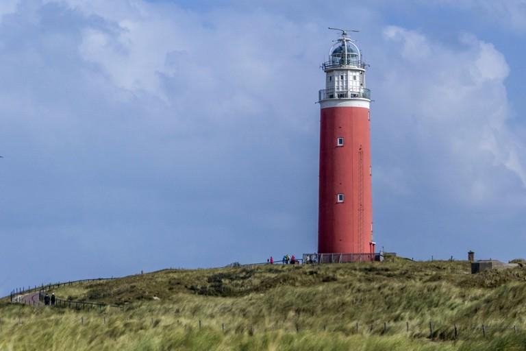 Texel's Eirland lighthouse