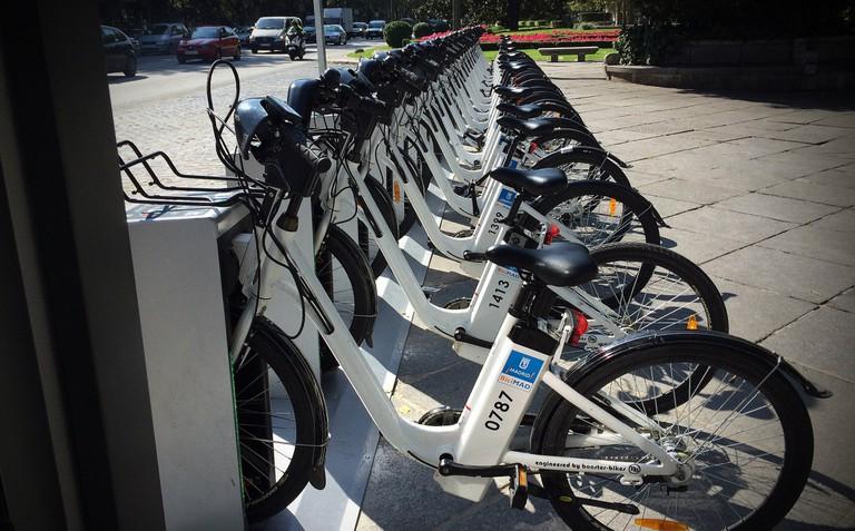 BiciMAD bikes
