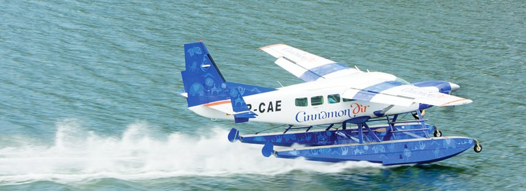 The Cinnamon Air seaplane will take you almost anywhere in Sri Lanka much faster than a car