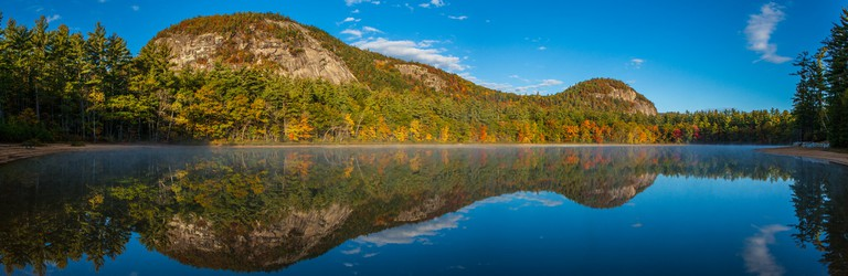 Echo Lake in the White Mountains of New Hampshire