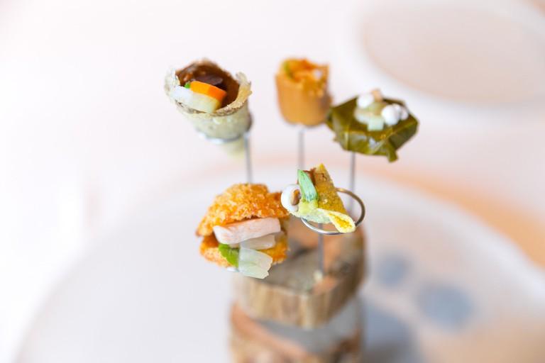The world in five snacks at El Celler de Can Roca
