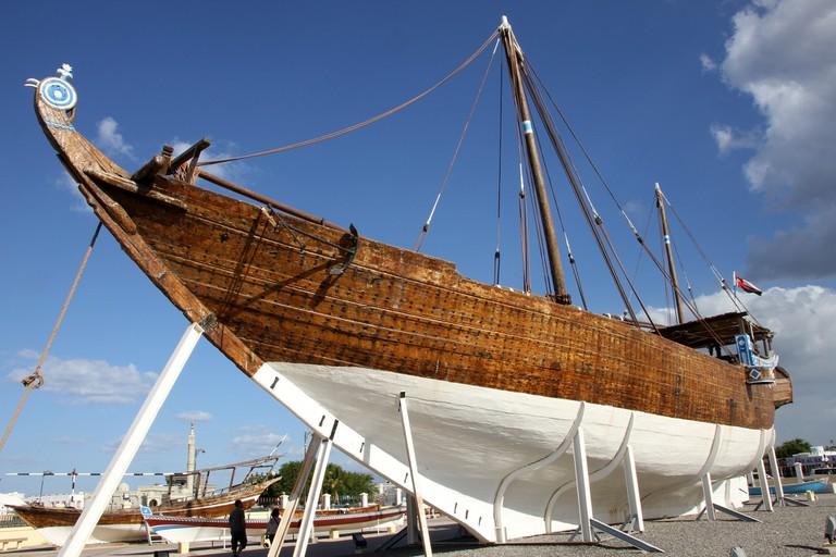Dhow vessel in Sur