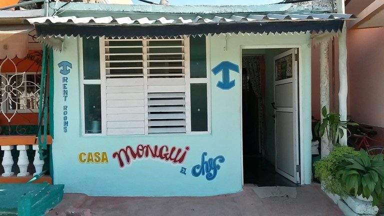 In Cuba, stick to the casas particulares with the blue sign