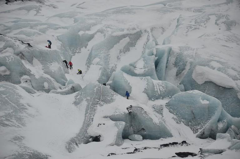 Sólheimajökull Glacier, Iceland, March 2015 | © alljengi/Flickr