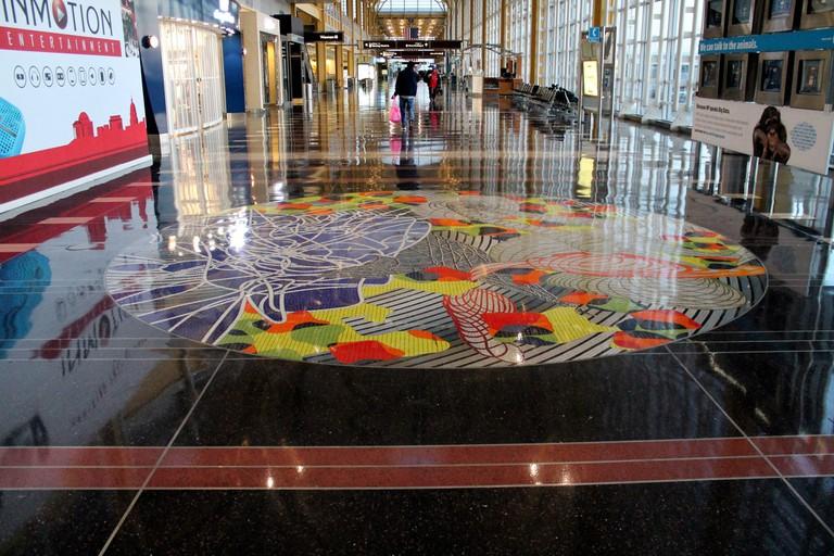 Ronald Reagan Airport Art
