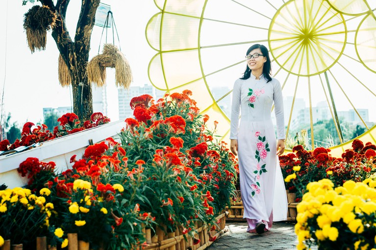 Traditional ao dai | © Tran Son Hai/Flickr