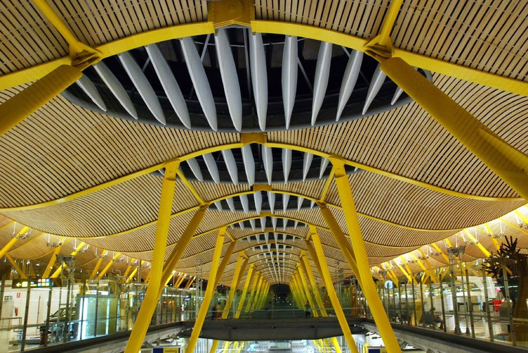 Madrid's airport is easily reachable by public transport