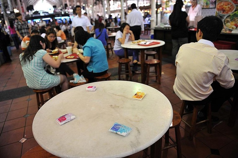 "Singapore's ""Chope-ing"" Culture"