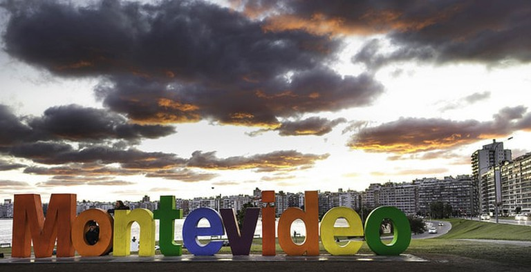 Montevideo City's sign painted to celebrate diversity