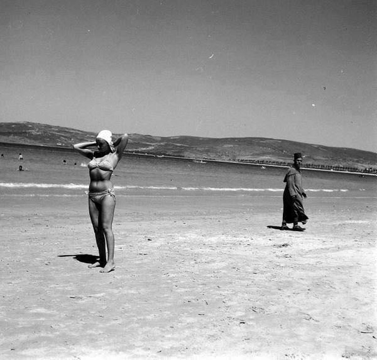 Tangier beach, 1960
