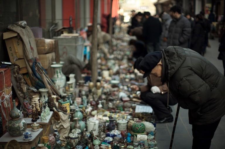 Pan Jia Yuan Bejing Antique Flea Market