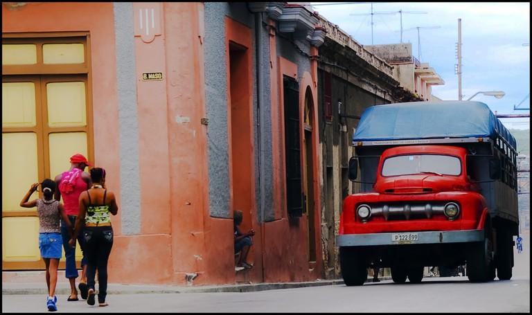 Streets in Santiago de Cuba