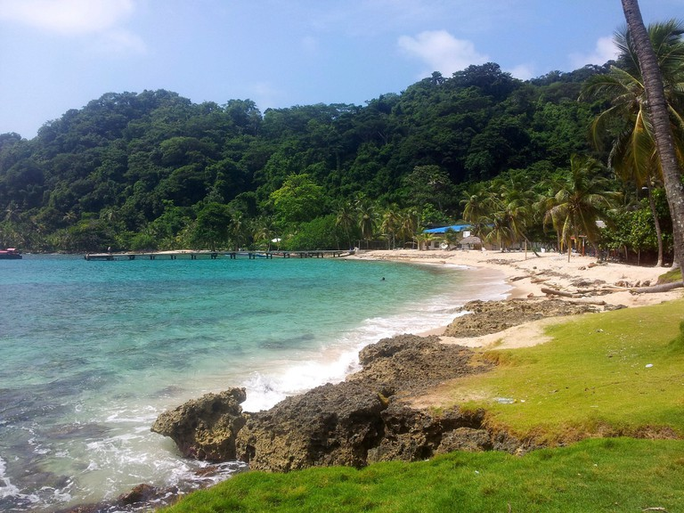La Miel beach in Panama │