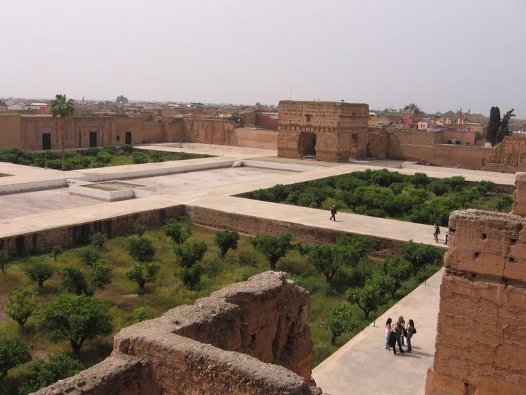 Ruins of El Badi Palace, Marrakech