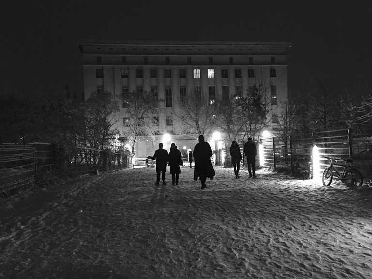 Berghain at night, Berlin