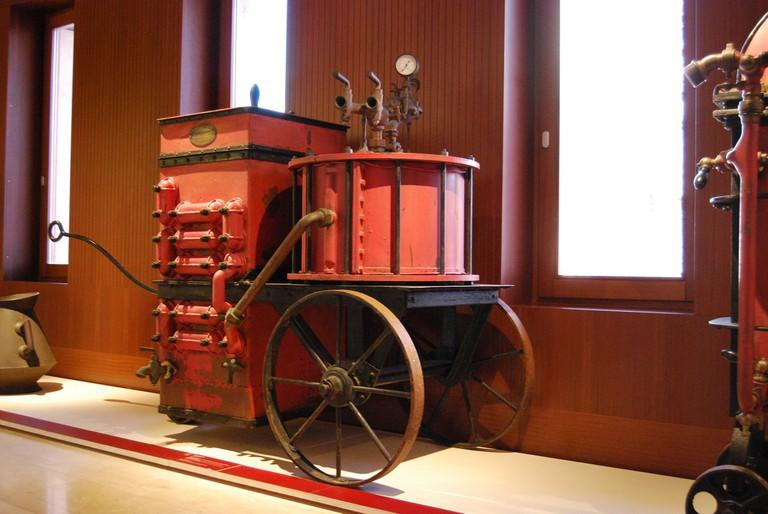 A machine in the wine museum © Ferran Porta