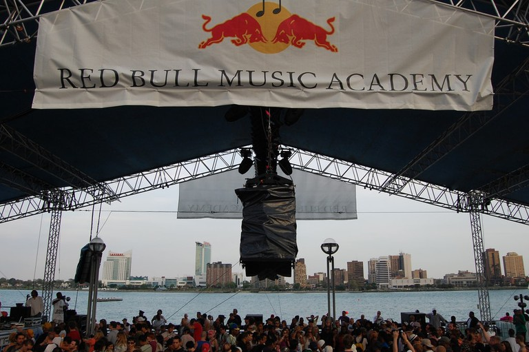Red Bull music event