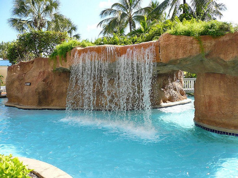 Waterfall at Cable Beach