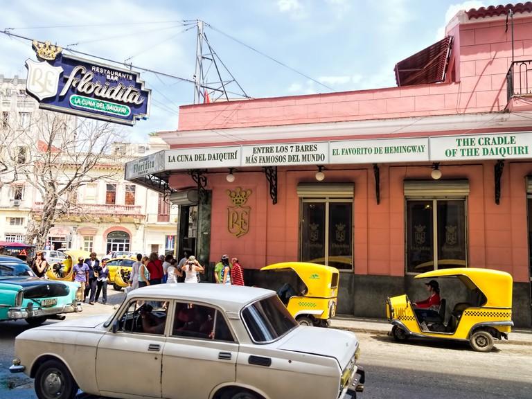 El Floridita in Havana today