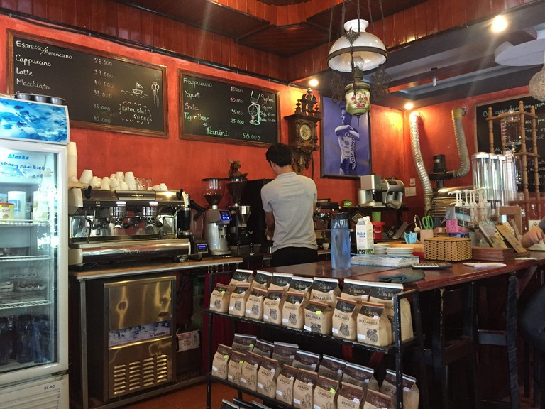 There is so much good coffee and tea in Hoi An