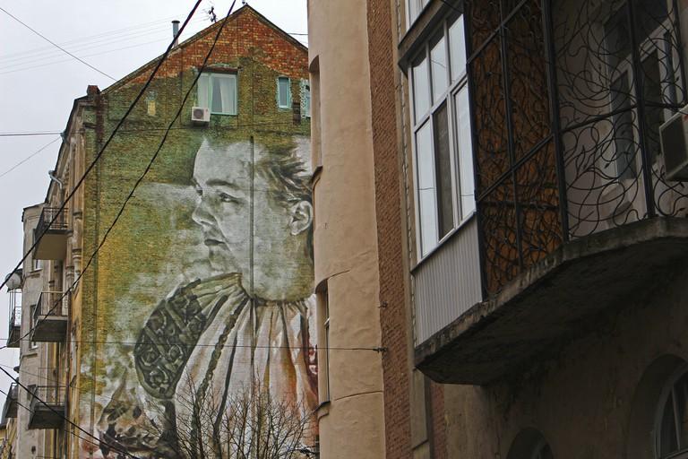 Lesya Ukrainka mural