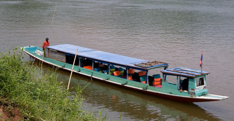 Boat, Laos