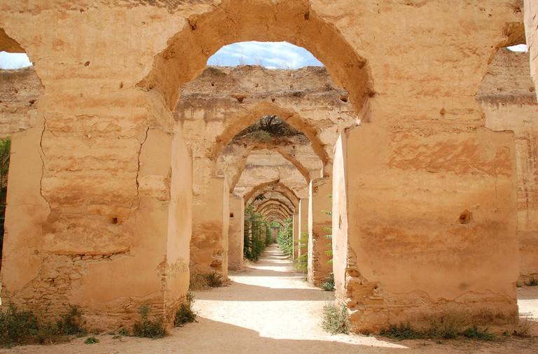 Meknes granary