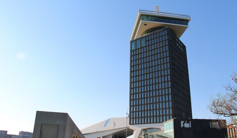 Moon is located on one of A'DAM Toren's top floors