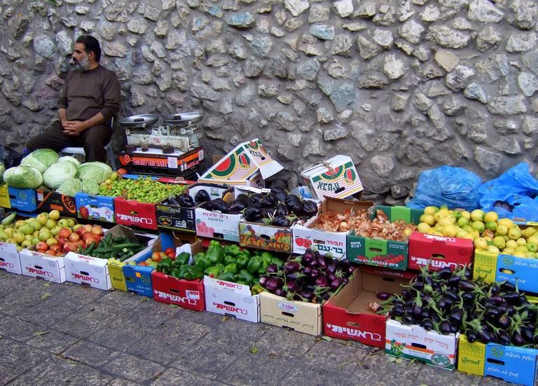 Fruit and Veg, Old City, Jerusalem